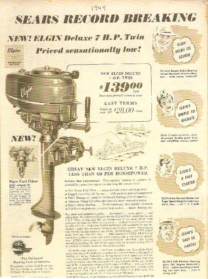 1949 | Elgin Outboard
